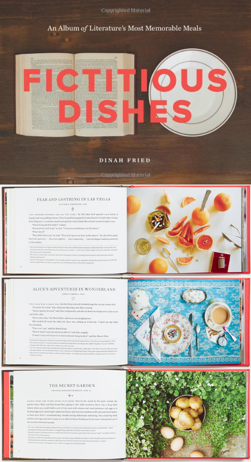 Fictitious Dishes:  An Album of Literatures Most Memorable Meals