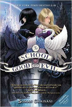 The School for Good and Evil by Soman Chainani:  a book review by Roaming Rosie