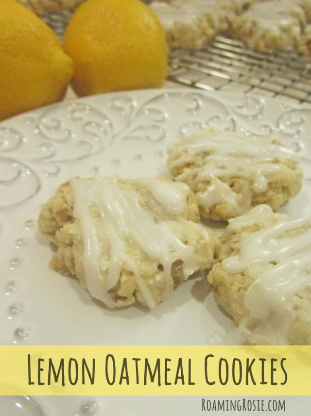Fashioned Lemon Cookie Recipe: Roaming Rosie