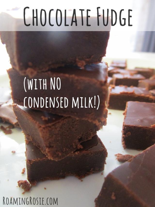 how to make white chocolate fudge with condensed milk