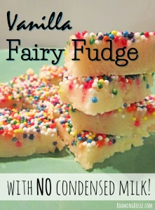 Vanilla Fairy Fudge Recipe