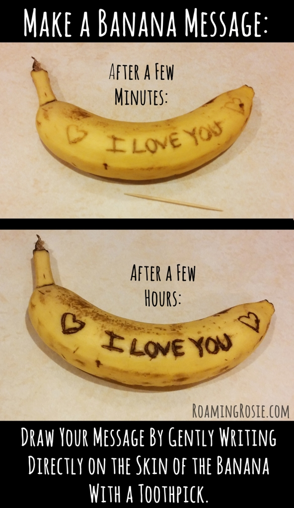 How to Make a Banana Message