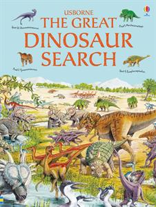 Great Dinosaur Search Book