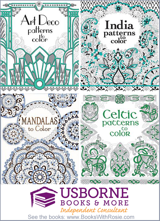 Patterns to Color Usborne Coloring Books