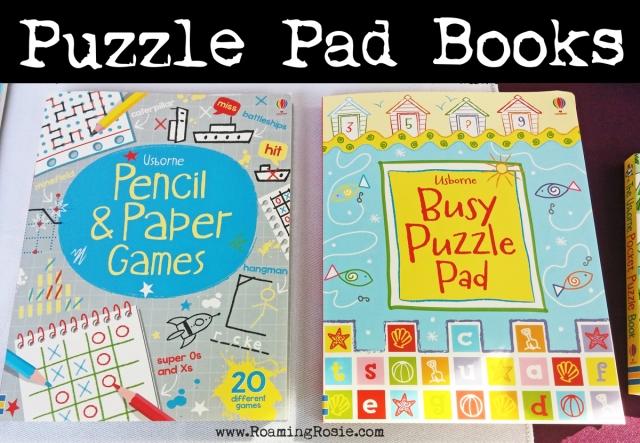 puzzle pad books