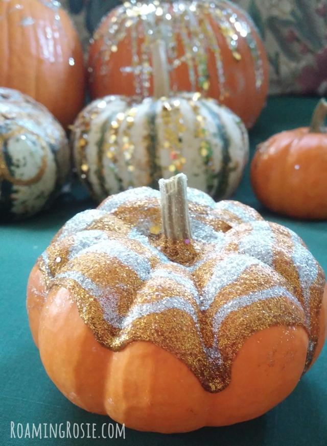 Glitter Glue Pumpkins 2