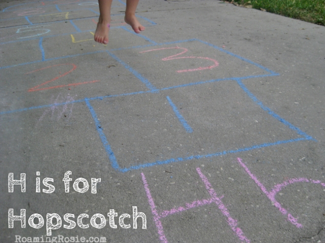 Letter H Alphabet Activities from Roaming Rosie