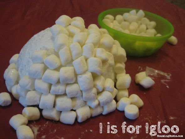 I is for Igloo Alphabet Activities with Roaming Rosie