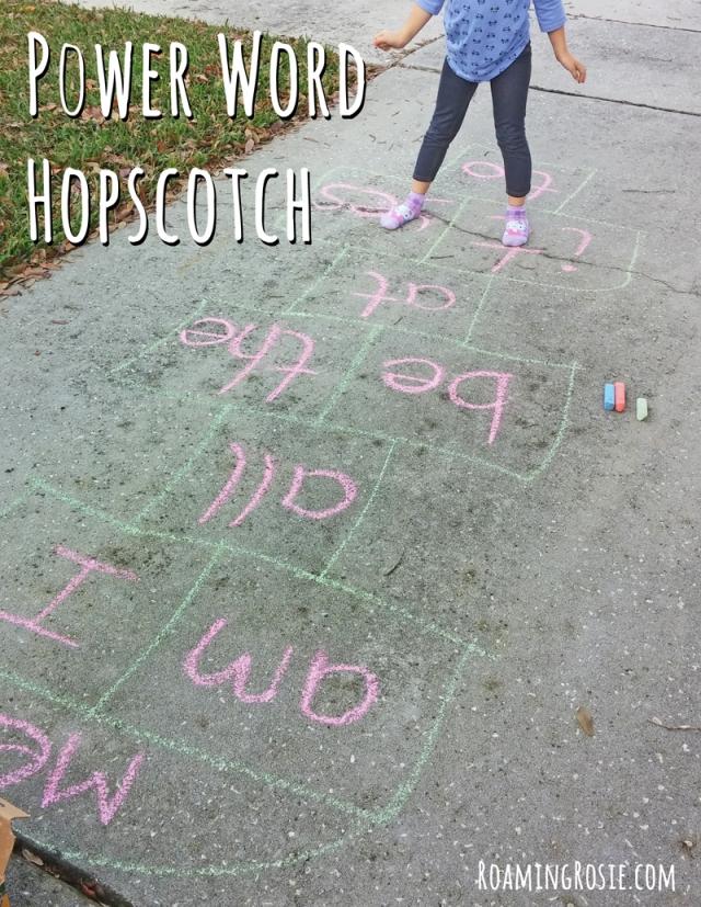 Power Word Hopscotch