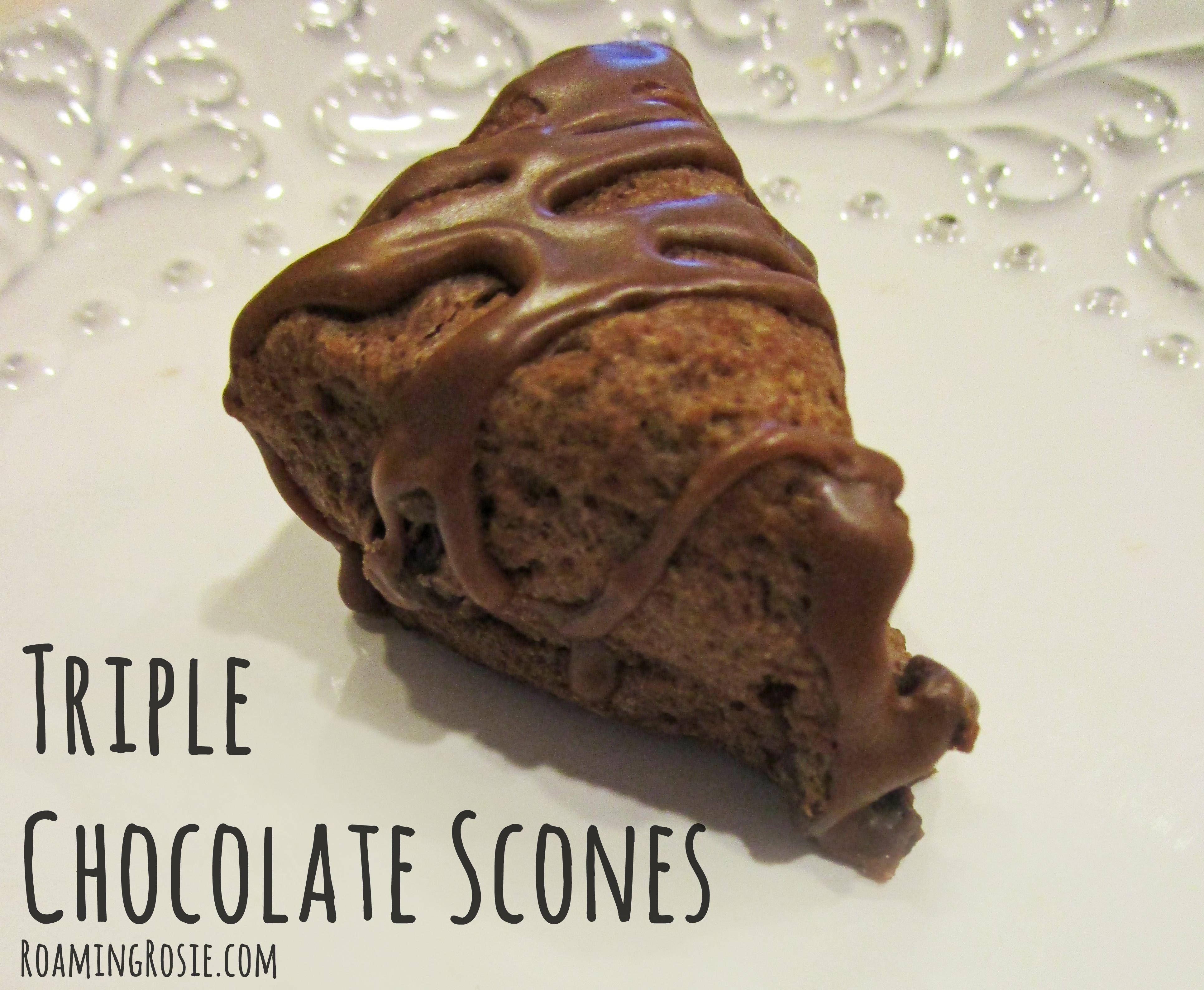 Triple Chocolate Scones Recipe 2