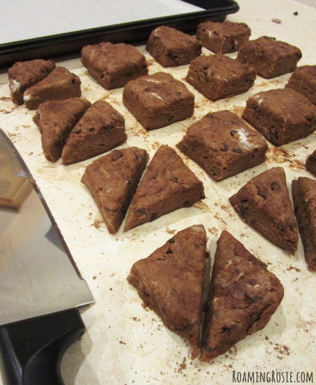 Triple Chocolate Scones Recipe 8