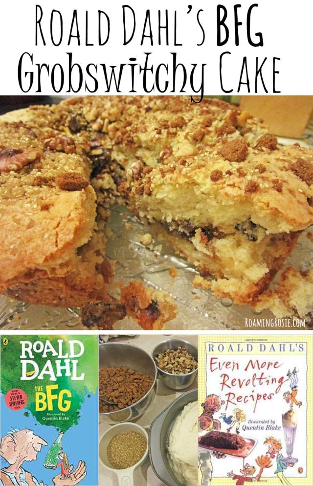 Roald Dahl's The BFG Grobswitchy Cake