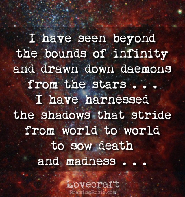 From Beyond Lovecraft Quote