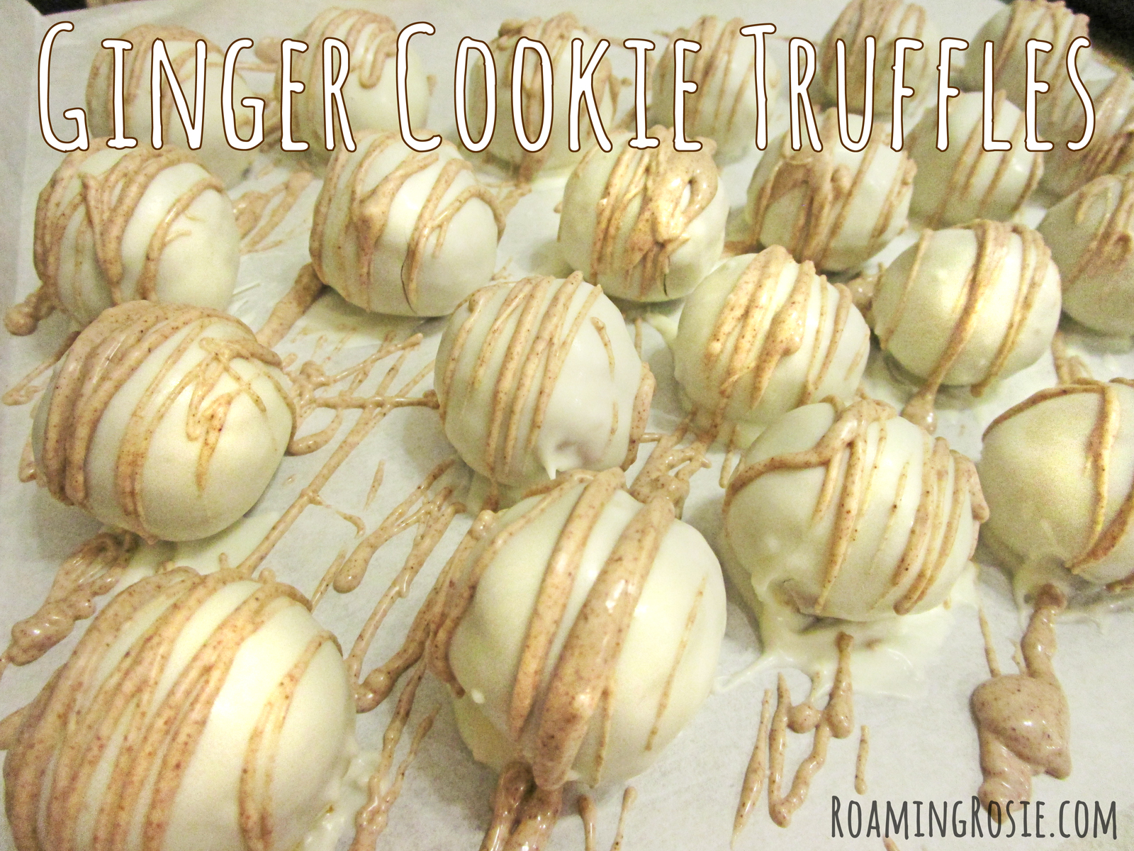Ginger Cookie Truffles 1