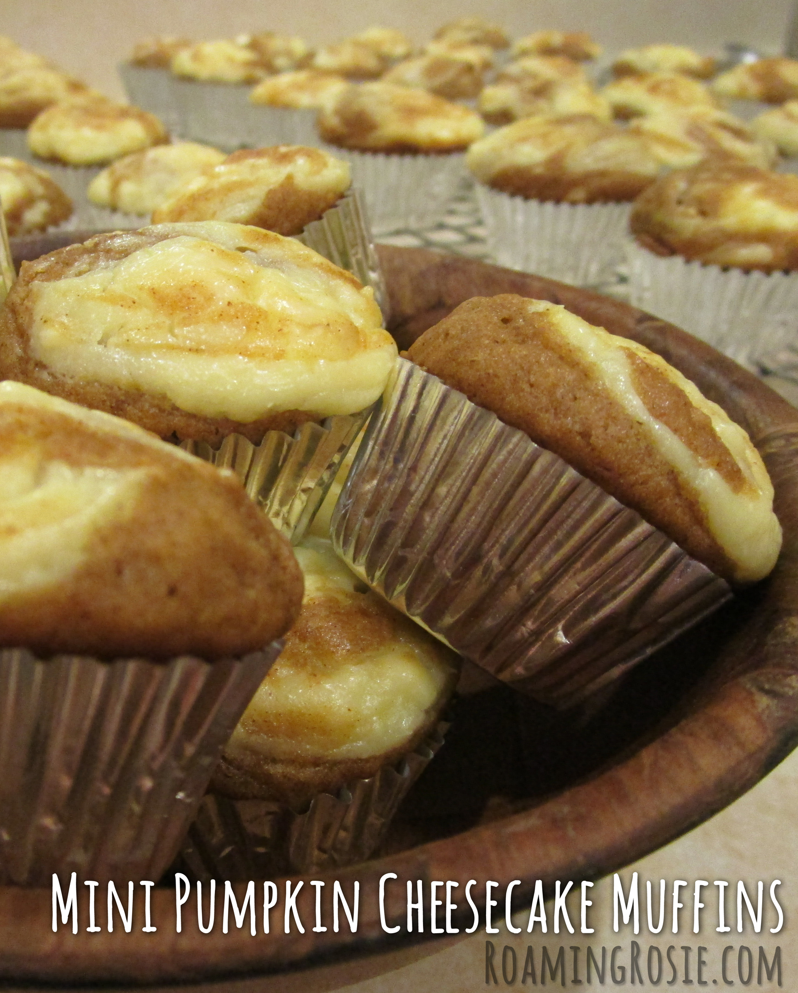 Mini Pumpkin Cheesecake Muffins Recipe