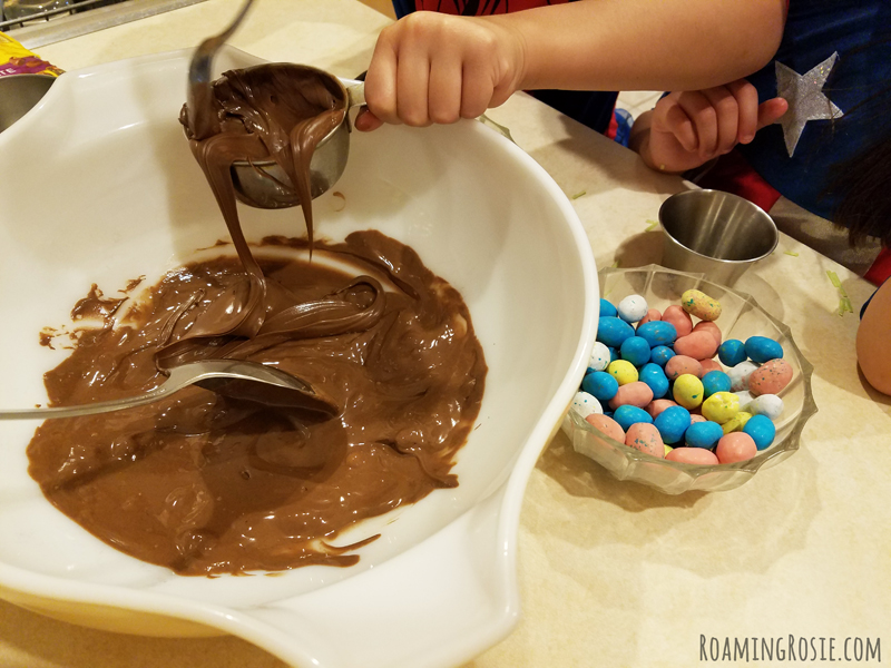 Nutella Chocolate Birds Nests 3