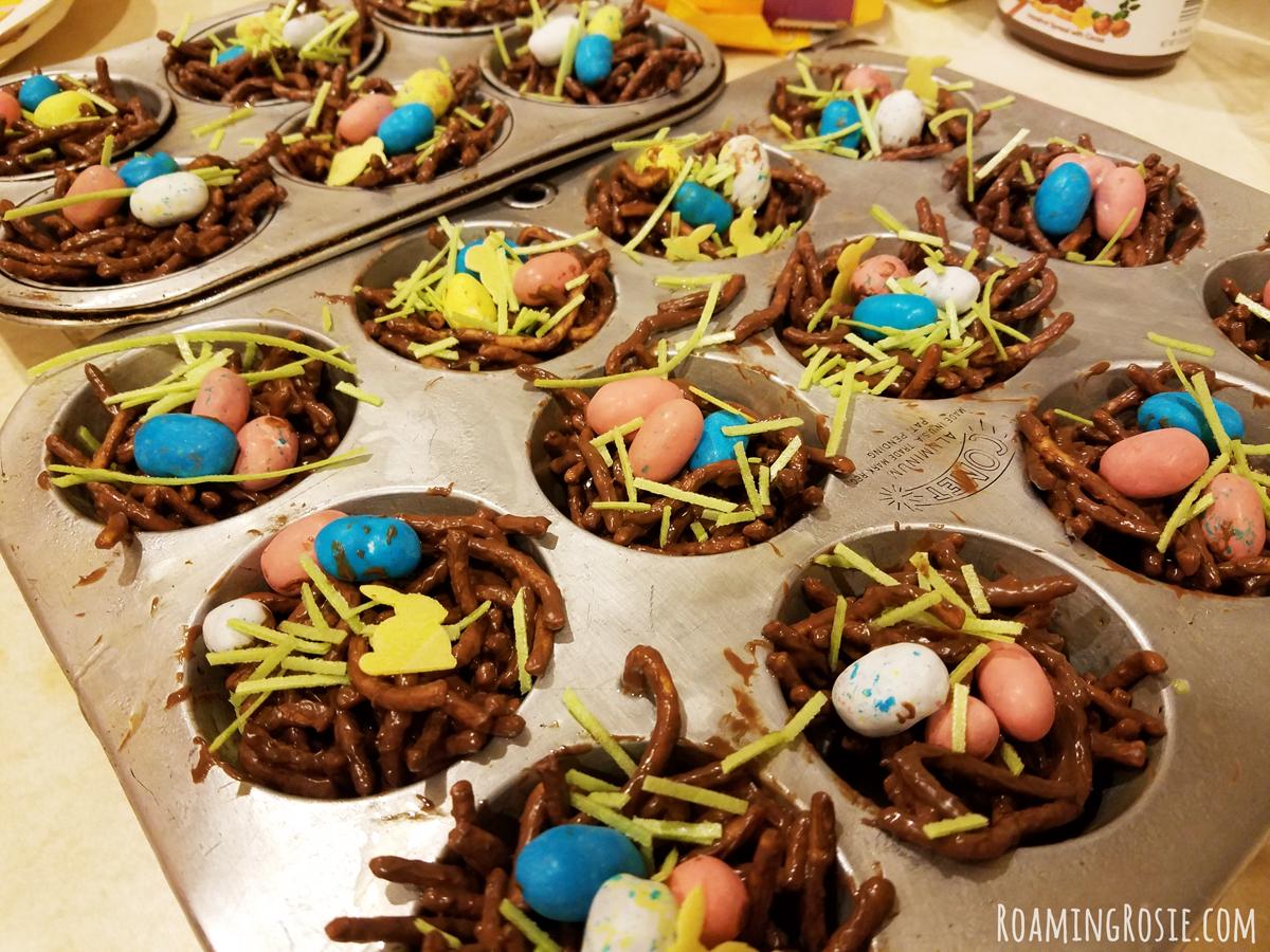 Nutella Chocolate Birds Nests 6