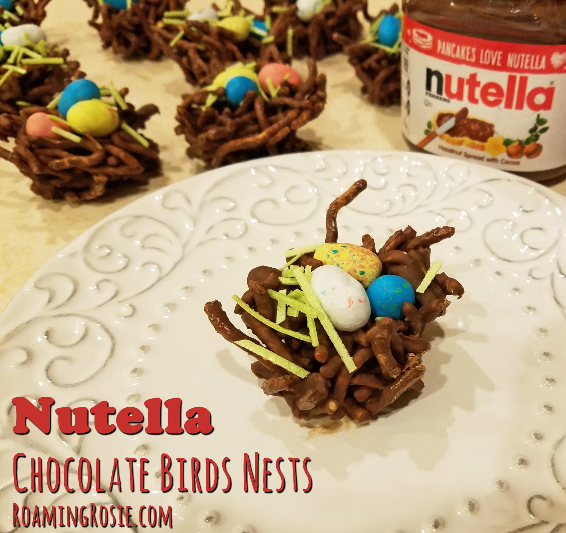 Nutella Chocolate Birds Nests 7