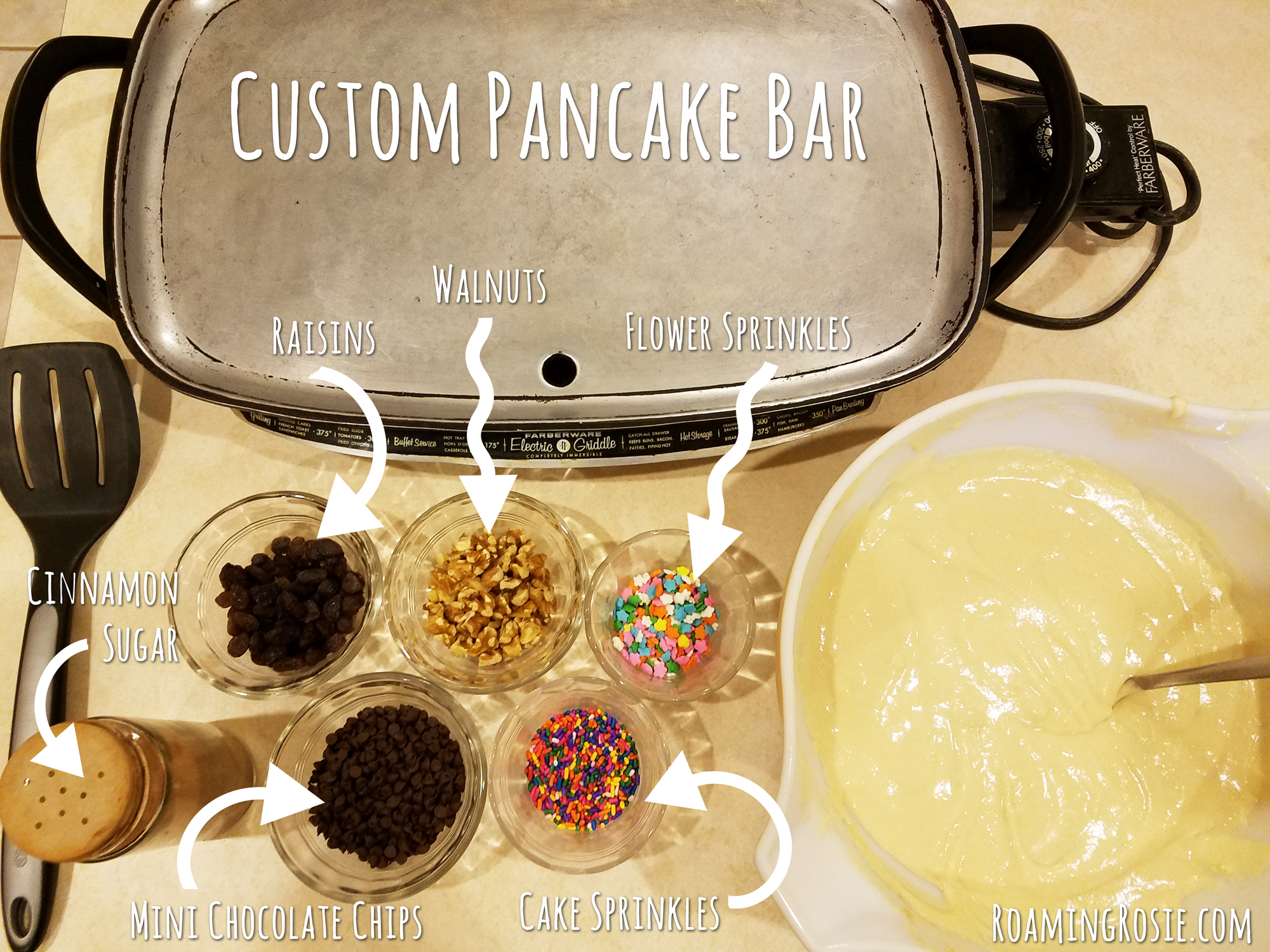 Custom Pancake Bar 6