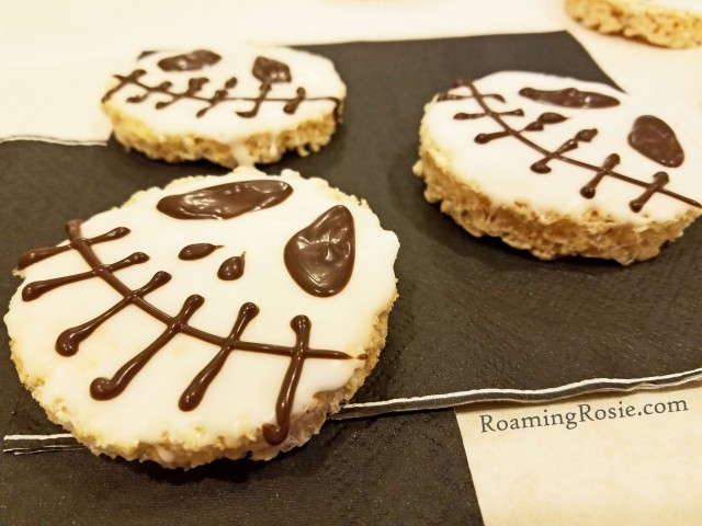jack skellington rice krispie treats 2