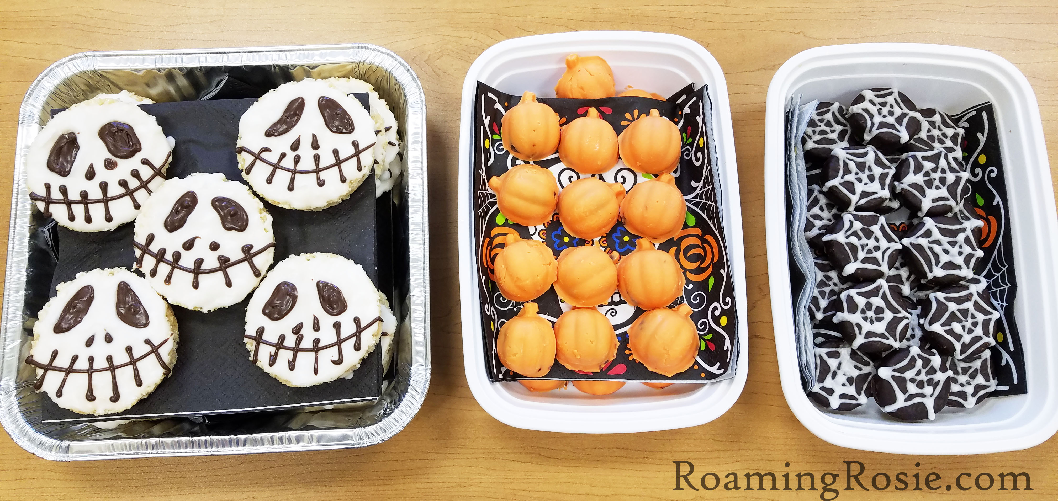 jack skellington rice krispie treats 3